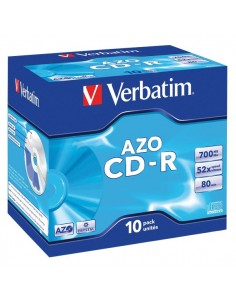 CD Verbatim - CD-R - 700 Mb - 52x - Jewel case - 43327