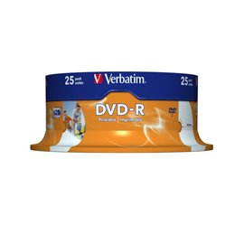 DVD Verbatim - DVD-R - 4,7 Gb - 16x - Spindle - 43522 (conf.25)