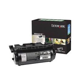 Originale Lexmark X644A11E Toner return program nero