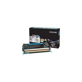 Originale Lexmark X746A1CG Toner X746, X748 ciano