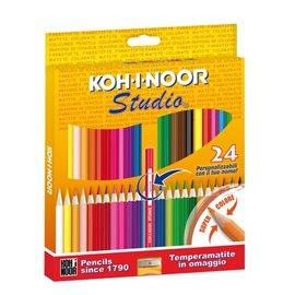 Pastelli STUDIO Koh-i-noor - 2,9 mm - da 3 anni in poi - DH3325 (conf.24)