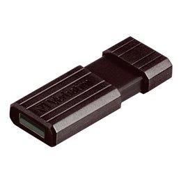 Chiavette USB Store 'n' Go Pinstripe Verbatim - 16 GB - USB 2.0 flash drive - nero - 49063