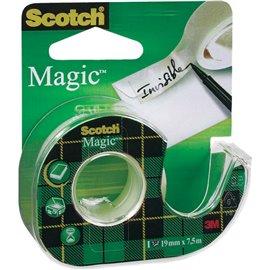 Nastro adesivo Scotch® Magic™ 810 - Chiocciola ricaricabile - 19 mm x 7,5 m - 8- 8-1975 D/89511