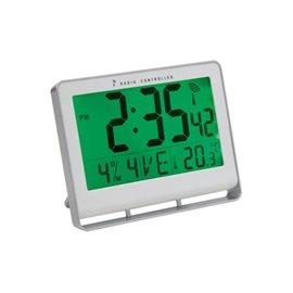 Orologio da parete digitale Alba - grigio - 20x3x15 cm - HORLCDNEO