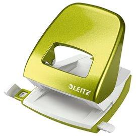Perforatore Leitz 5008 - verde metallizzato - 50082064