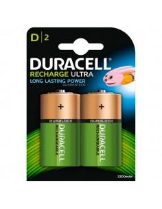 Pile Ricaricabili Duracell Accu - torcia - D - 1,2 V - HR20B2 (conf.2)