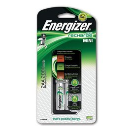 Caricabatterie Mini Charger Energizer - AA/AAA - 12 ore - E300321000