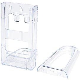 Portabrochure componibile Lit-Loc Deflecto - Portabrochure - 1/3 A4 verticale - 11,3x6x20 cm - DE771901