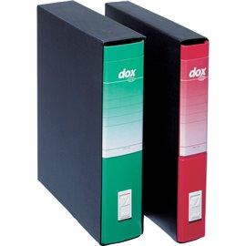 Registratori Dox 2 - dorso 8 - protocollo - blu - D26204
