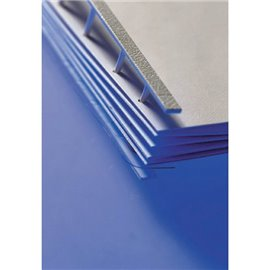 Pettini per rilegatura a pettine Velobind GBC - blu - 2-200 fogli - 9741636 (conf.25)