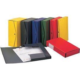 Scatola archivio Project King Mec - dorso 4 cm - 25x35 cm - verde - 00023314 (conf.5)