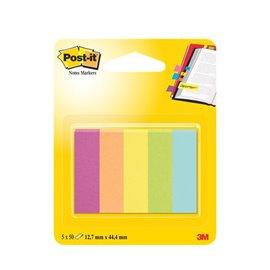Segnapagina Post-It® Notes Markers In Carta - 12,7x44,4 mm - 670-5Ca-Eu (Conf.5)