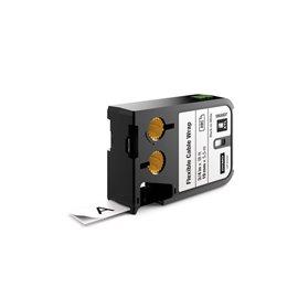 Etichette XTL N/B 19 mm Dymo - 19 mm - nero/bianco - 1868807