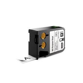 Etichette XTL in vinile Dymo - 24 mm - nero/bianco - 1868753