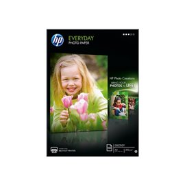 Carta fotografica HP Everyday - lucida - A4 - 200 g/mq - Q2510A (conf.100)