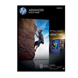 Carta fotografica HP Advanced Hewlett Packard - lucida - A4 - 250 g/mg - Q5456A (conf.25)