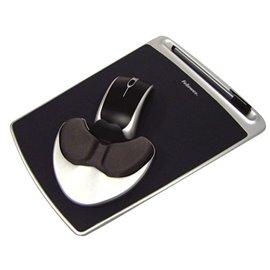 Mousepad Easy Glide con Microban Fellowes - nero - 93730