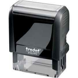 Timbri autoinchiostranti Printy 4.0 ECO Trodat - Printy 4910 4.0 - 26x10 mm - 3 - nero - 47475