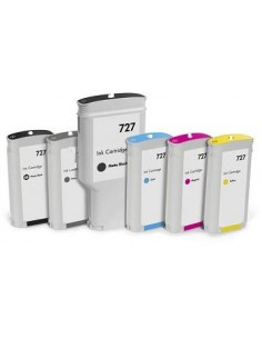 Black Photo Compa Hp Designjet T1500,T2500,T920-130Ml 727