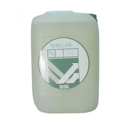 Detergente liquido per lavaggio vetri a stecca Kemika - Neoglass - 045250 - conf 2x5 Kg