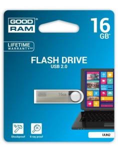 Pendrive GoodRAM 16GB UNN2 metal USB 2.0 - retail blister
