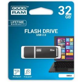 Pendrive GoodRAM grafite UMO2 32GB USB 2.0 - blister