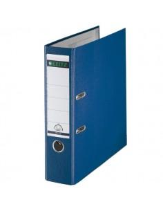 Registratore Leitz 180° - Dorso 8 - Commerciale - F.to utile 23x30cm - blu - 10105035