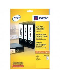 Etichette per raccoglitori Avery - Laser - 200x60 mm - 4 - L7171-25 (conf.25)