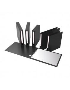 """Portatabulati Rexel - Con custodia - 5,5 cm - 12""""x41 cm - nero - PKM4100"""