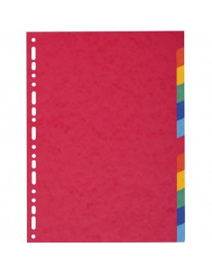 Divisori In Cartoncino Riciclato Forever® Exacompta - 220 G/Mq - A4 Maxi - 6 - 2106E