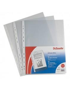 Buste a foratura universale Copy Safe Esselte - Deluxe 22x30 cm antiriflesso- 395097600 (conf.50)