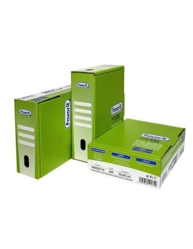 Buste A Foratura Universale Lisce Favorit - Linear (Medio Spessore) - 22x30 cm - 400052719 (Conf.500)