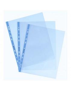 Buste a foratura universale Favorit Art - 22x30 cm - liscio - azzurro - 100206797 (conf.25)