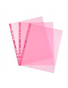 Buste a foratura universale Favorit Art - 22x30 cm - liscio - rosa - 100206799 (conf.25)