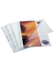 Buste a L con foratura universale Favorit - 22x30 cm - goffrata - 100460074 (conf.50)