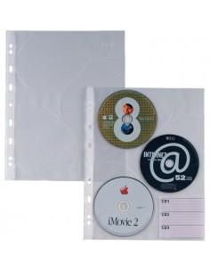 Buste trasparenti Atla CD 3 Sei Rota - 662509 (conf.10)