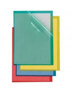 Cartelline a L Poli Sei Rota - Formato A4 - PPL - blu - 66232207 (conf.25)