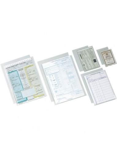 Buste a U in polipropilene Deluxe Esselte - 30x42 cm - 395901600 (conf.100)