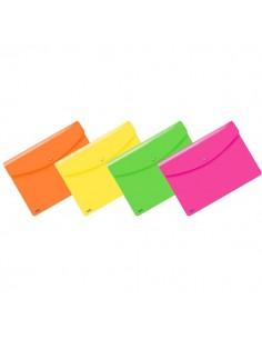 Buste Snap Neon Favorit - A4 - assortiti fluo - 400116127