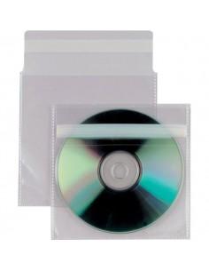 Buste trasparenti porta CD/DVD Insert Sei Rota - Con patella autodesiva - 430103 (conf.25)