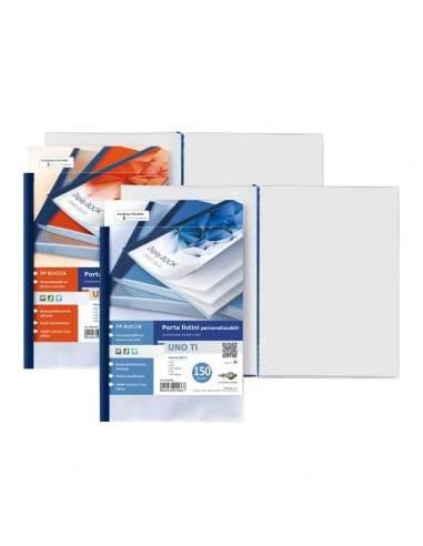 Portalistini personalizzabili Uno TI Sei Rota - 22x30 cm - 36 buste - blu - 55223607