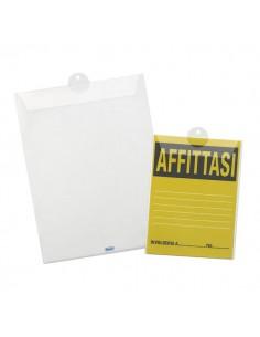Porta avvisi con asola estraibile Favorit - 22x30 cm - 100460131 (conf.10)
