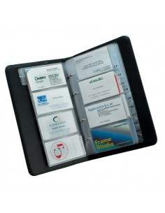 Ricambi per portabiglietti da visita con indice Tecnostyl - 15 buste - NCB01 (conf.15)