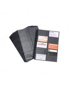 Buste di ricambio per porta biglietti da visita Black Tie Tecnostyl - 23x30 cm - BT611 (conf.10)