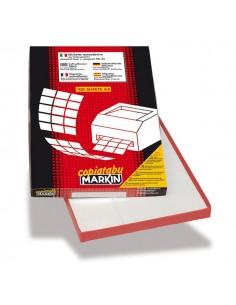 Etichette adesive Markin - 63,5x38,1 mm - 21 - X210A410 (conf.100)