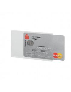 Custodia porta carte di credito RFID secure Durable - 5,4x8,6 cm - trasparente - 8903-19 (conf.3)