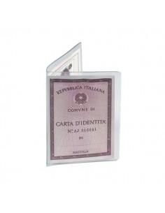 Porta carta d'identità Favorit - 16x11,5 cm - 1 spazio - 100500073 (conf.50)