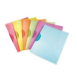 Cartellina Colorclip Rainbow Leitz - A4 - dorso 3 cm - azzurro - 41760130 (conf.6)
