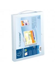 Cartella personalizzabile con maniglia Krea Cover® Exacompta - 5925E