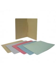 Cartelle ad aghi in cartoncino Euro-Cart - verde - CM05VE (conf.50)